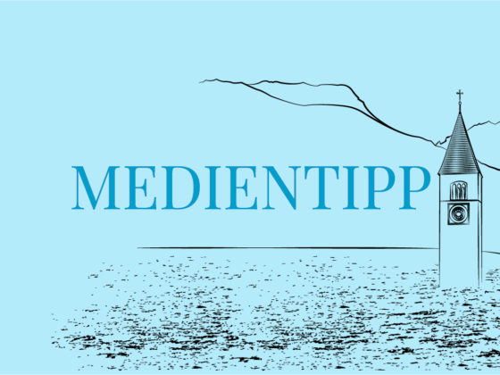Medientipp Südtirol Marco Bolzano Ich bleibe hier Reschensee Illustration