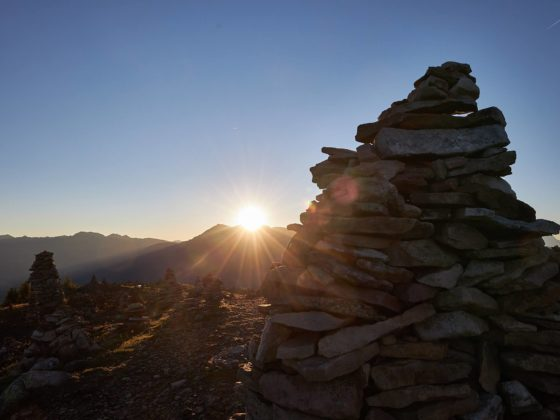 stoinerne Mandeln Sonnenaufgang