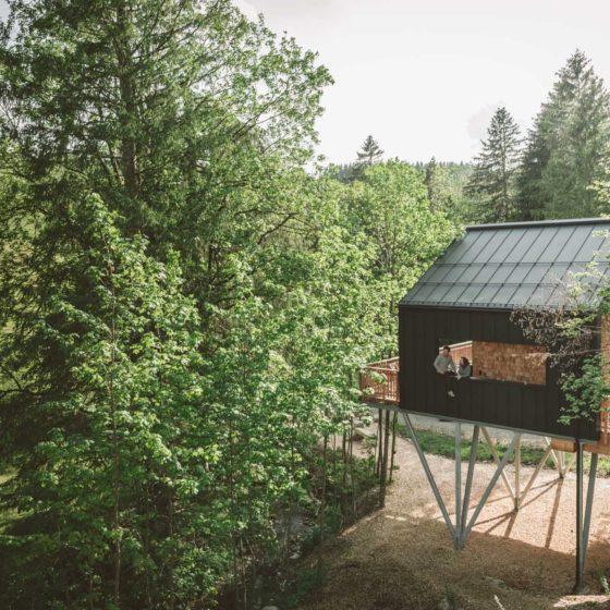 Charmingplaces Baumchalets Allgäu Geheimtipp
