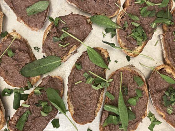 Rezept Toskana Crostini Leber Pate