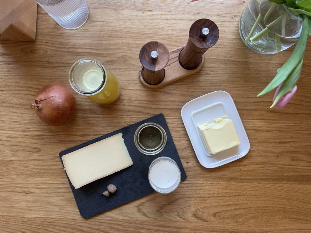 Rezept Bregenzerwälder Käsesuppe