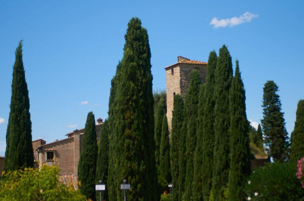 Tonda Toskana Montaione Dorf